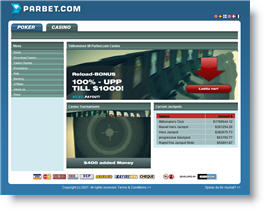 Parbet webbsajt