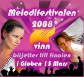 BestBingo Melodifestivalen 2008