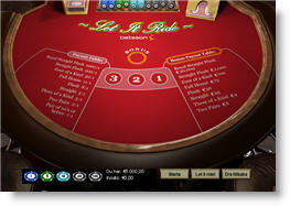Betsson Casino Let It Ride