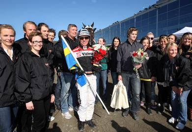 Olympiatravet 2009 vanns av Triton Sund
