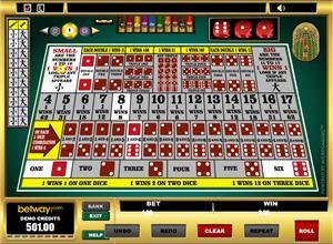 Sic Bo på Betway Casino