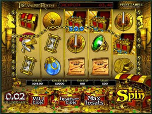 Treasure Room - slot med 3D-grafik