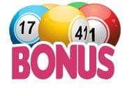 Bingo bonus - spela bingo och få en bonus