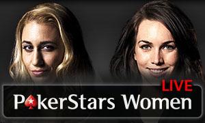 PokerStars Woman Live logo