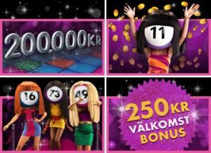 Fredagsfeber - vinn 200 000 kr hos bet365 bingo