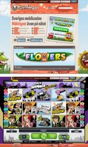 LeoVegas casino - med spel för både webbläsare och mobiler