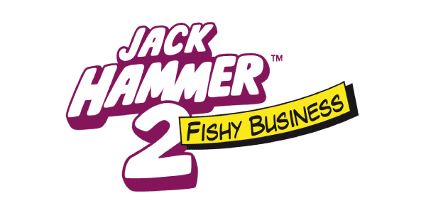 Jackhammer fishy business logo