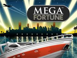 logotyp mega fortune