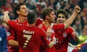 Bayern Munich's Thomas Muller Barcelona
