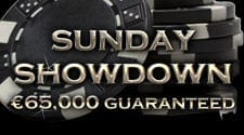 Sunday Showdown €65 000 Guaranteed