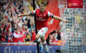 Aaron-Ramsey-Arsenal-FC-2013-HD-Wallpaper