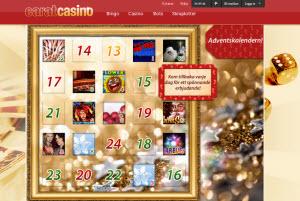 carat casino julkalender
