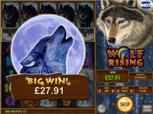 wolfrising