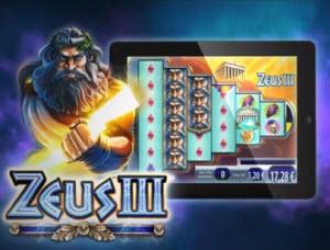 Spela Zeus III slot och andra spel på casumo.com
