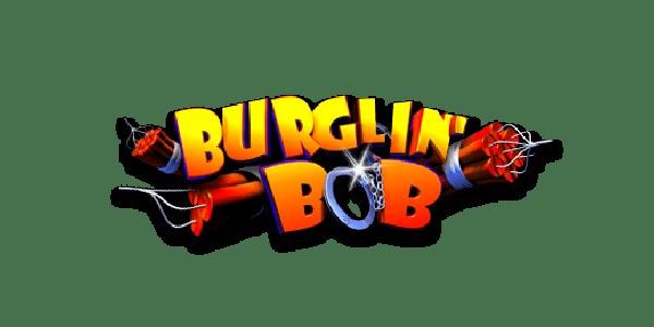 Burglin bob slot logo