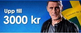 Nordicbet 3000kr