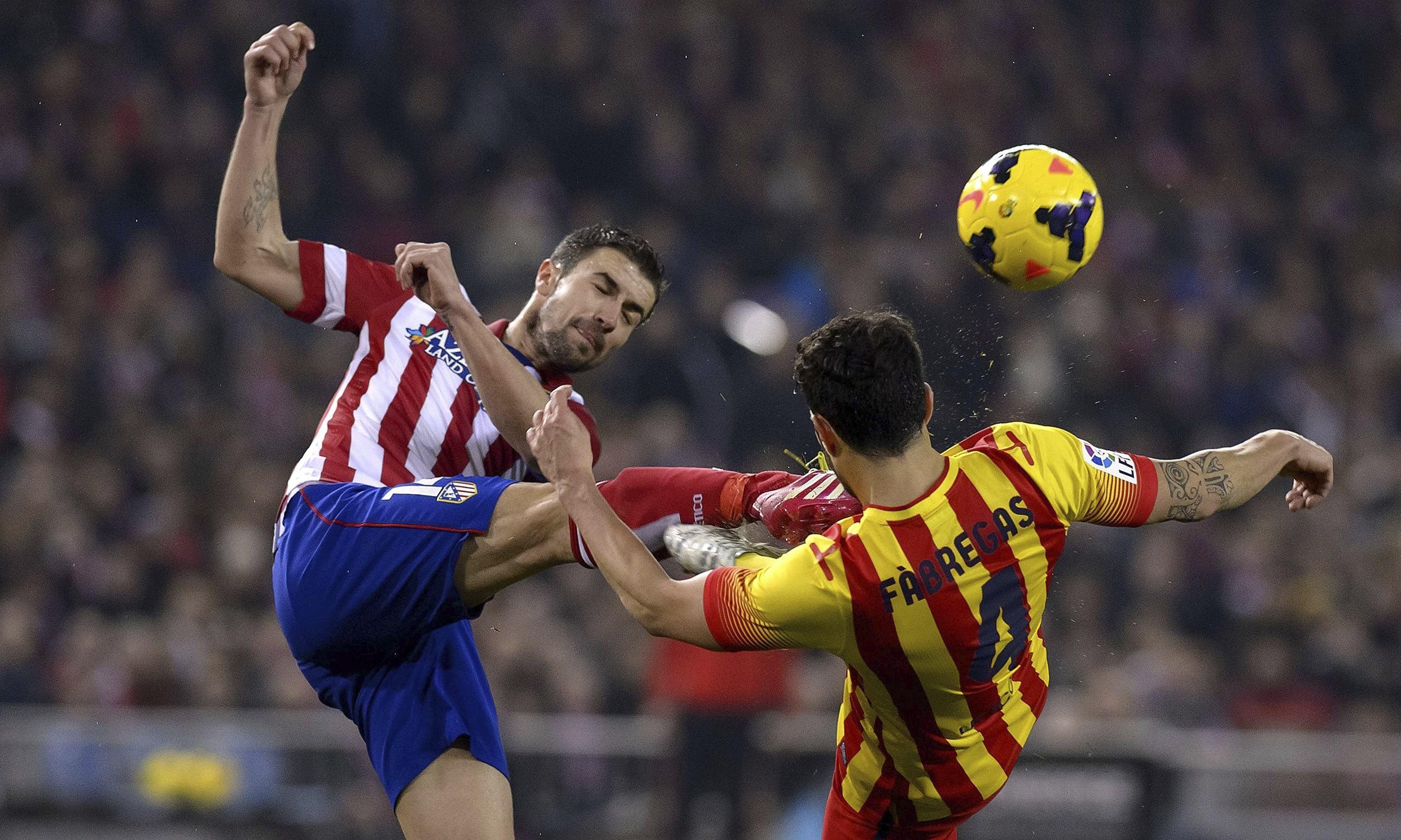 Atletico Madrid v Barcelona