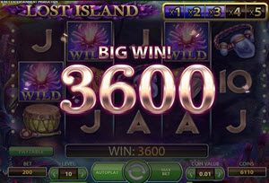 lost island spelautomat