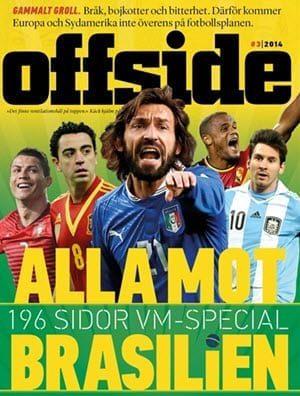 tidningen offside