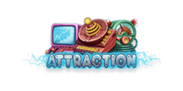 Attraction Slot Logo Netent