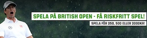 Riskfritt spel British Open