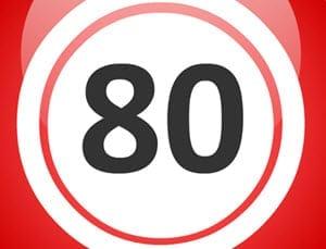 80 bollars bingo