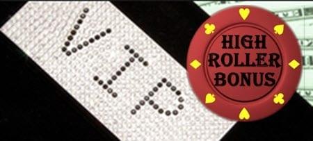 vip high roller  bonus