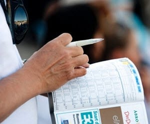 hur man läser travprogram