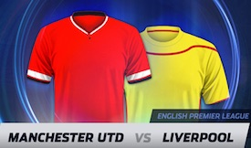 Manchester United - Liverpool kampanj