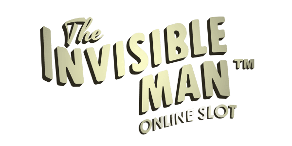 Invisible man slot logo