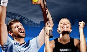 Tennis trippel Titanbet