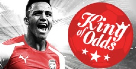 King of odds Redbet april