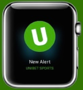 Unibet Apple Watch