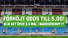 Unibet Madrid kampanj
