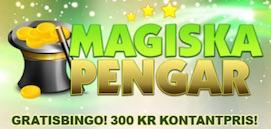 Magiska pengar Lysandebingo