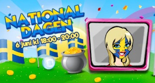 Nationaldagen Lysande Bingo