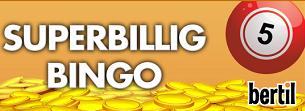 Spela gratis bingo hos Bertil