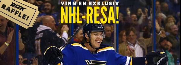 Vinn en NHL resa med Rizk