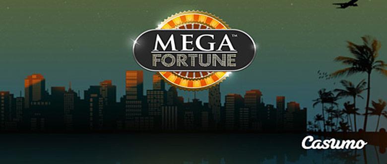 Free spins på Mega Fortune hos Casumo