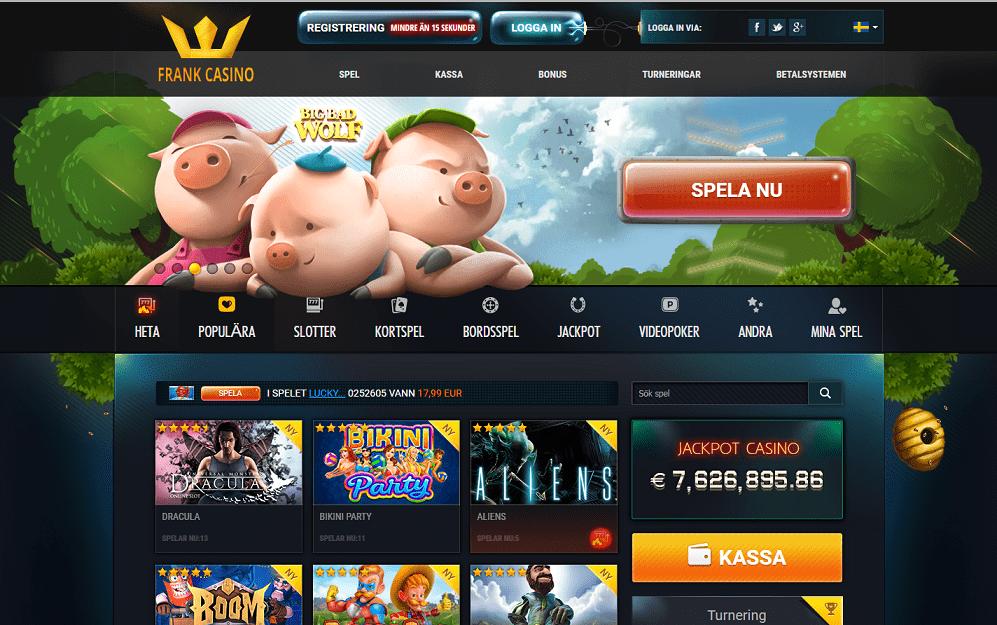 magic frank casino