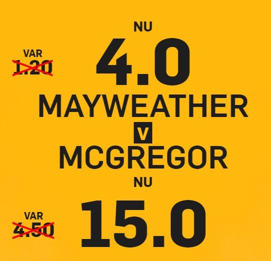 Betfair Mayweather McGregor
