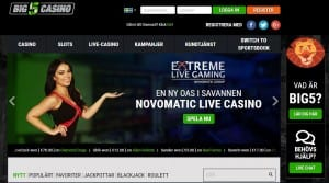 big5casino landningssida