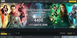 7 Gods Casino online bonus