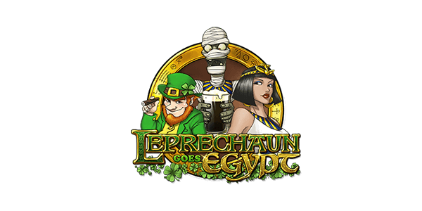 Leprechaun Goes Egypt Slots Logo