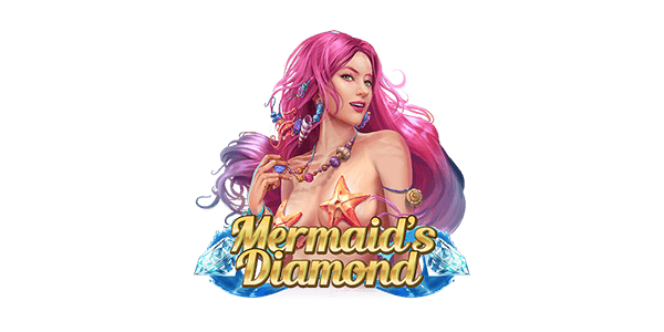 Mermaid's Diamond Slots Logo