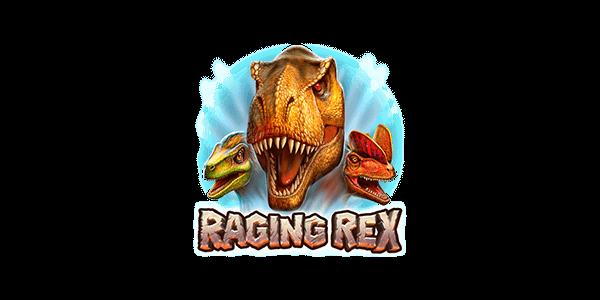Raging Rex - Slots Logo