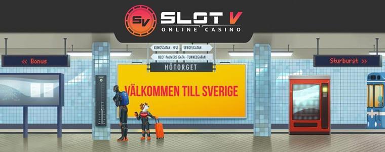 SlotV nylanserad i Sverige