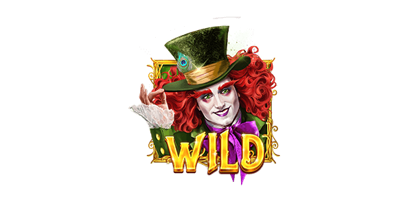 The Wild Hatter Slots Logo