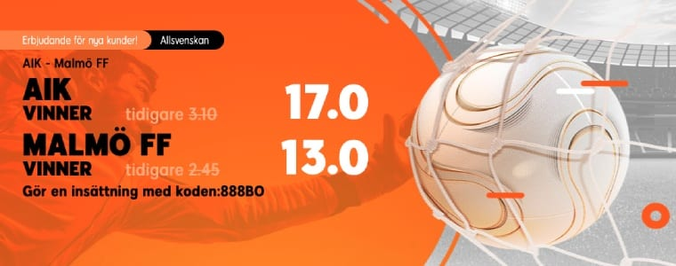 888Sport AIK - Malmö