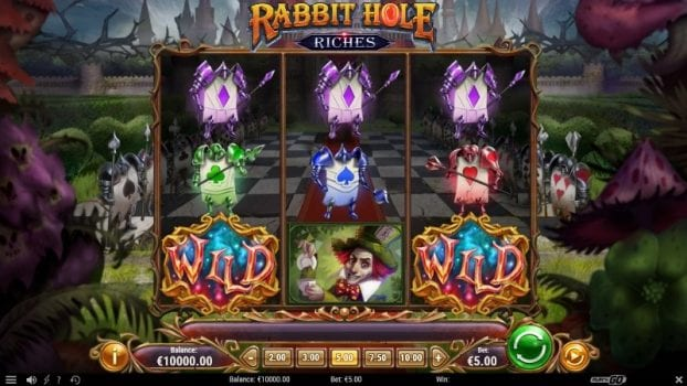 rabbit hole riches symboler